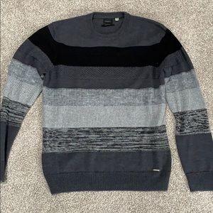 Diesel Italian knit sweater striped trim fit xxl